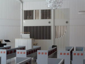 Suede-Gammelstad-Stillhetenskapell-l'orgue